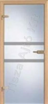Ü4 edzett üveges beltéri ajtó